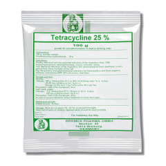 Tetracycline 25 %